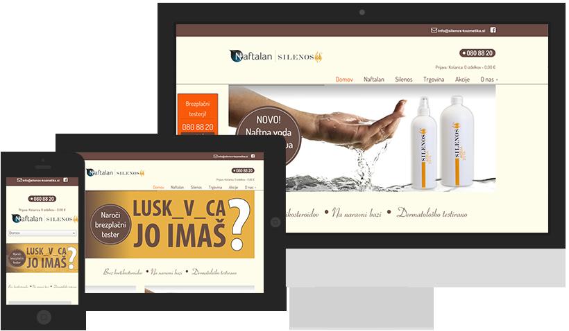 silenos-kozmetika_si izdelava spletne trgovine