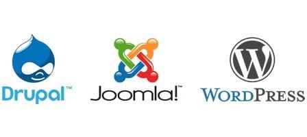 Drupal, Joomla, WordPress, primerjava cms sistemov