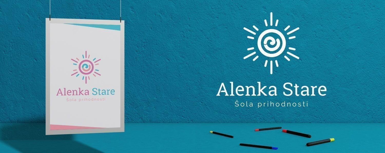 Oblikovanje logotipa Alenka Stare