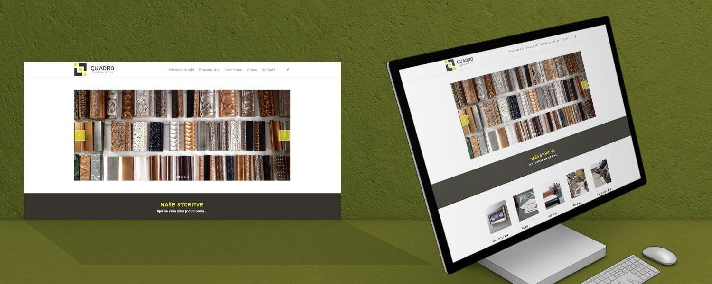 Oblikovanje spletnih strani Quadro_Martinuc