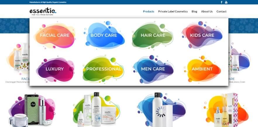 Essentiq-cosmetics megameni