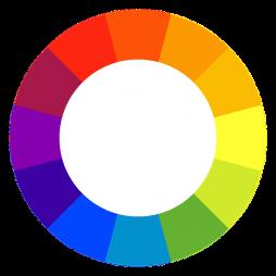 izbira barve vizitke