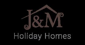 Oblikovanje logotipa J and M Holiday Homes