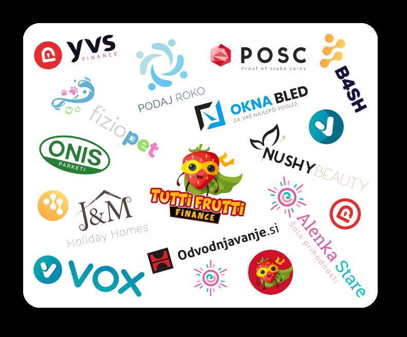 Nasi izdelani logotipi