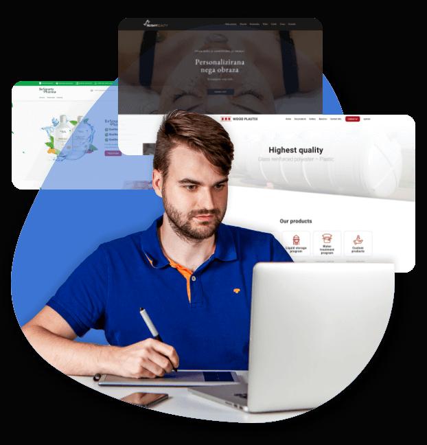 Profesionalno oblikovanje spletnih strani