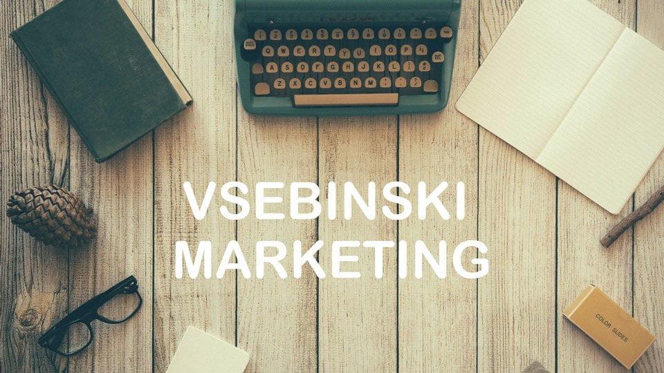 vsebinski marketing